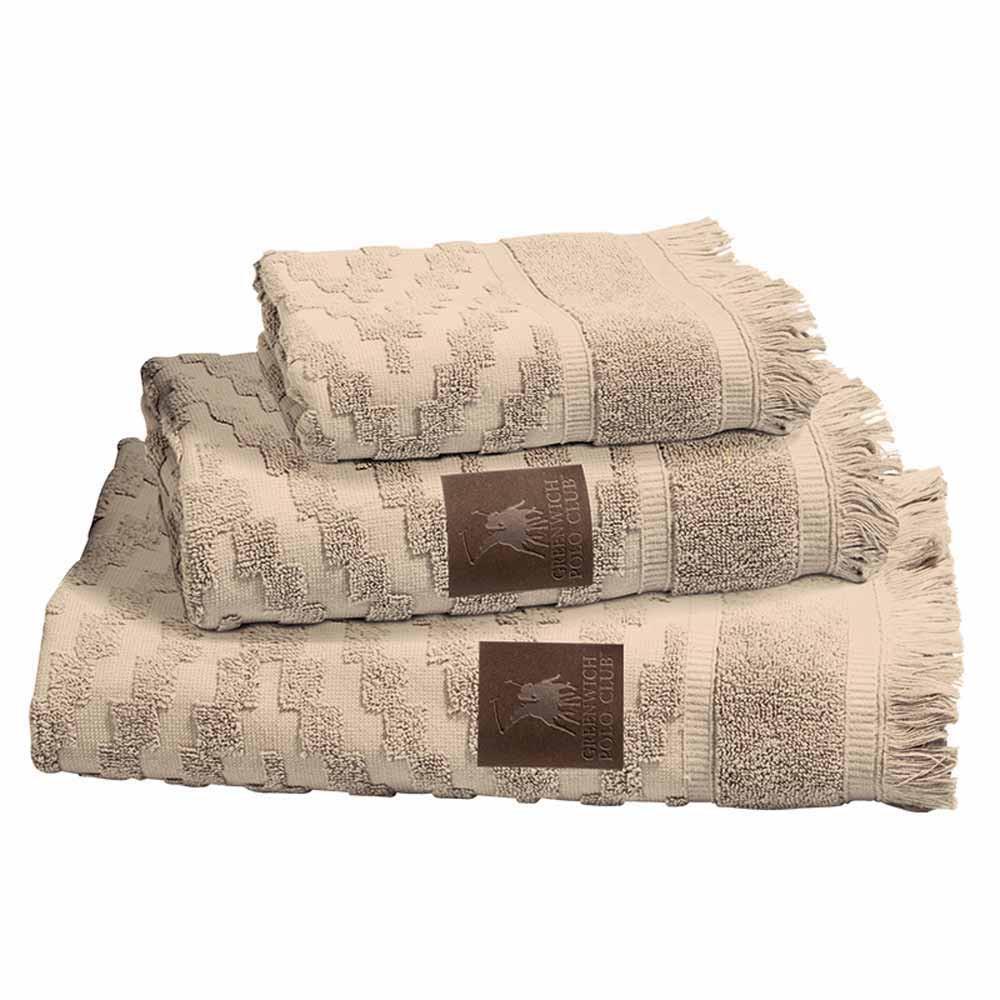 Πετσέτες Μπάνιου (Σετ 3τμχ) Polo Club Essential 2531