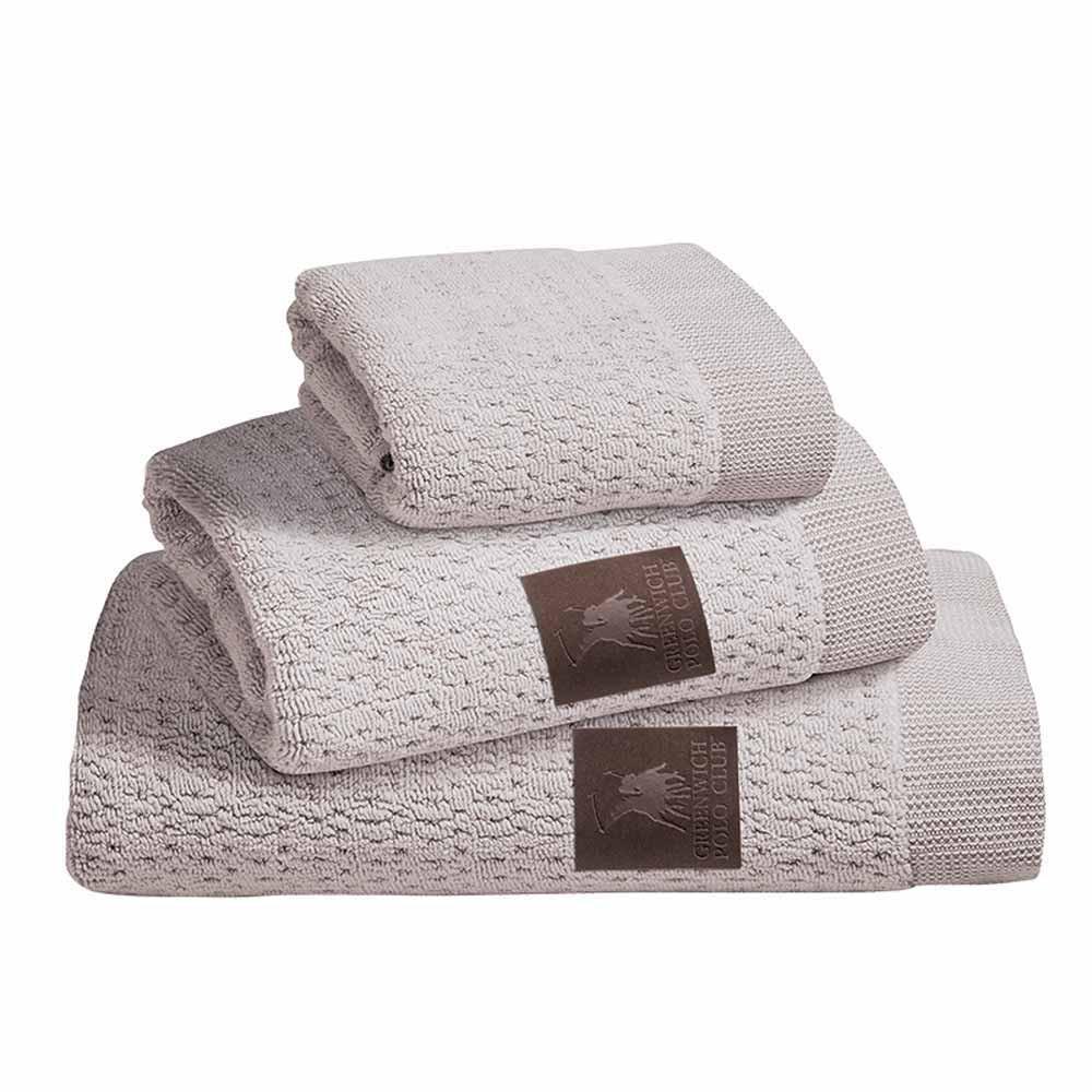 Πετσέτες Μπάνιου (Σετ 3τμχ) Polo Club Essential 2534