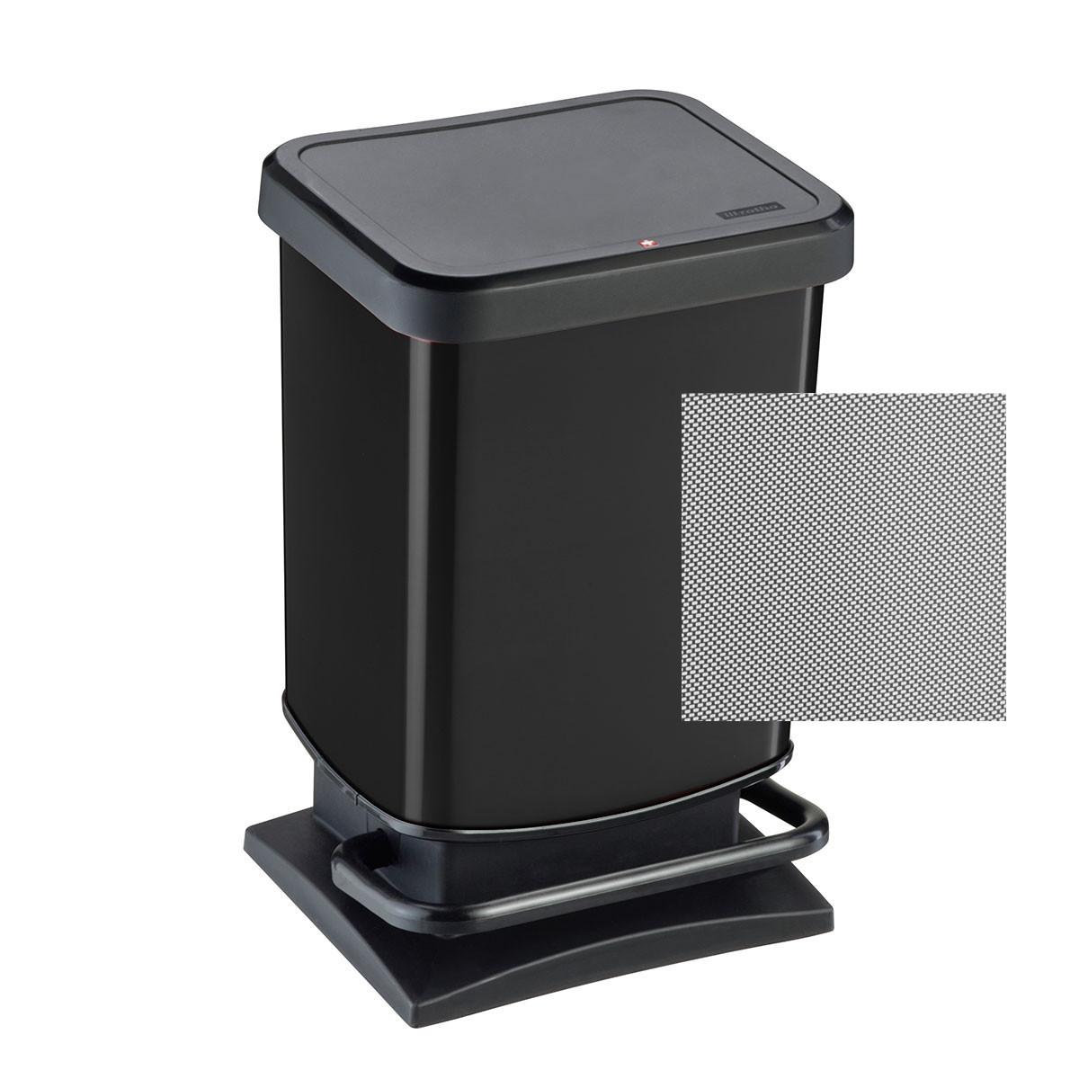 Κάδος Απορριμμάτων Rotho 20Lit Paso 06993.001 Black