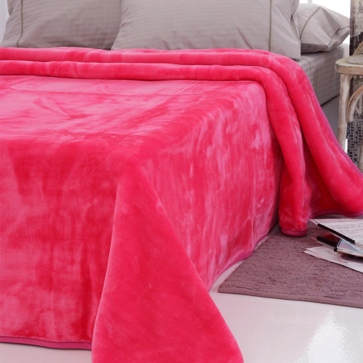Κουβέρτα Βελουτέ Μονή Sb Home Tyrol