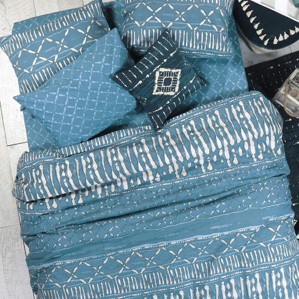 Σεντόνια Μονά (Σετ) Nef-Nef Blue Collection Batik