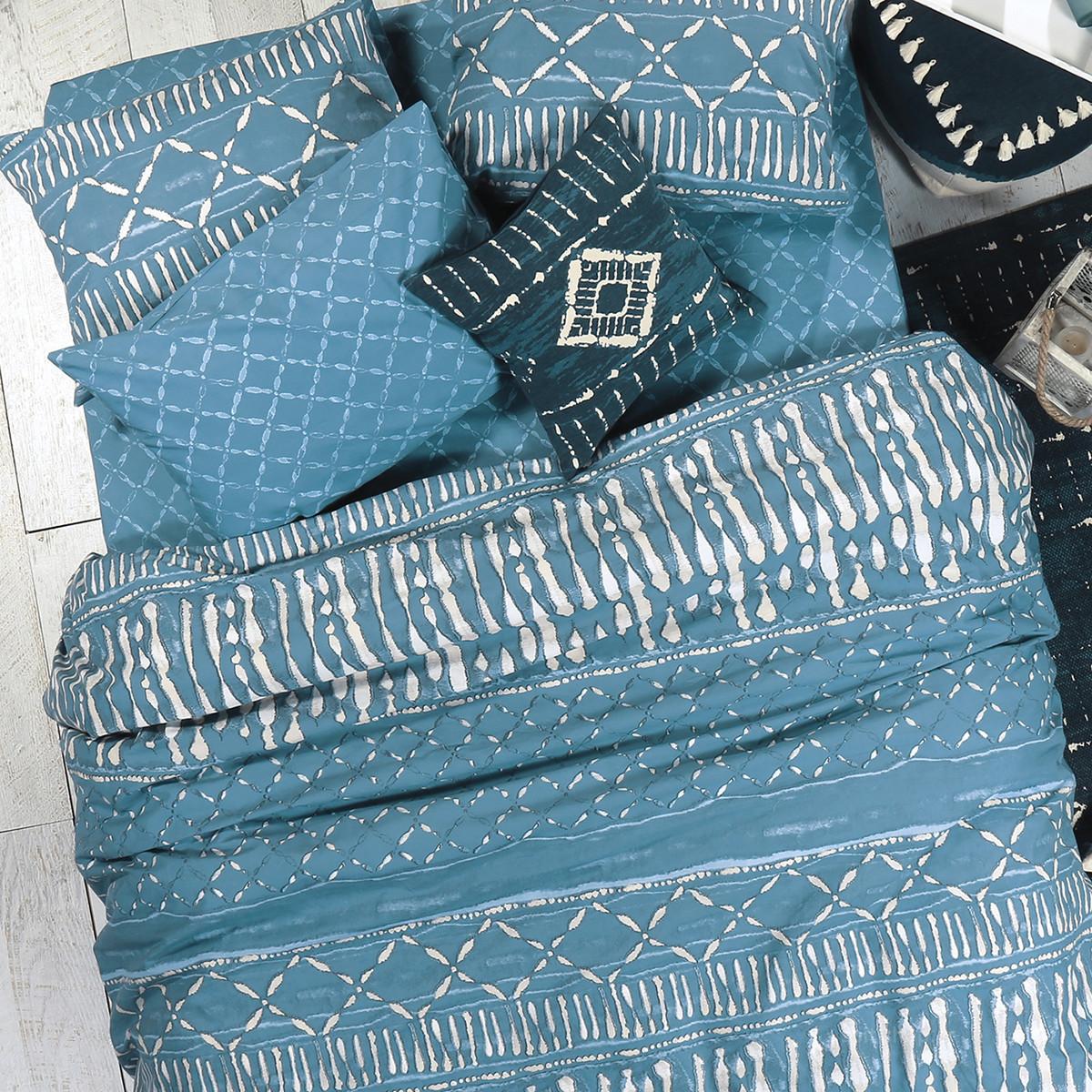 Σεντόνια Διπλά (Σετ) Nef-Nef Blue Collection Batik