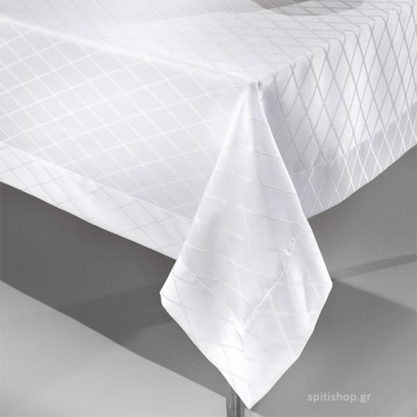 Τραπεζομάντηλο (160x260) Guy Laroche Vetro White
