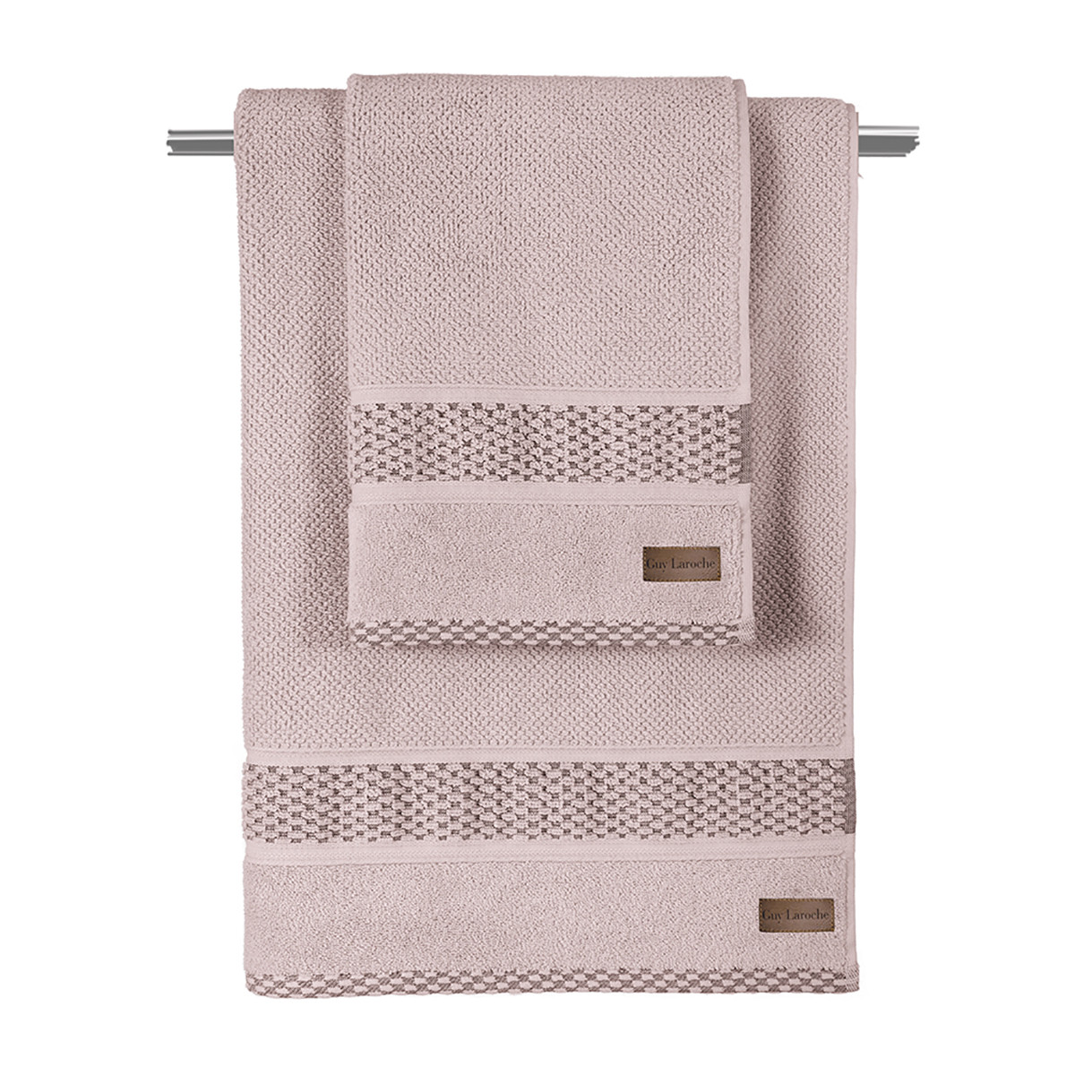 Πετσέτα Προσώπου (50×90) Guy Laroche Dash Pudra