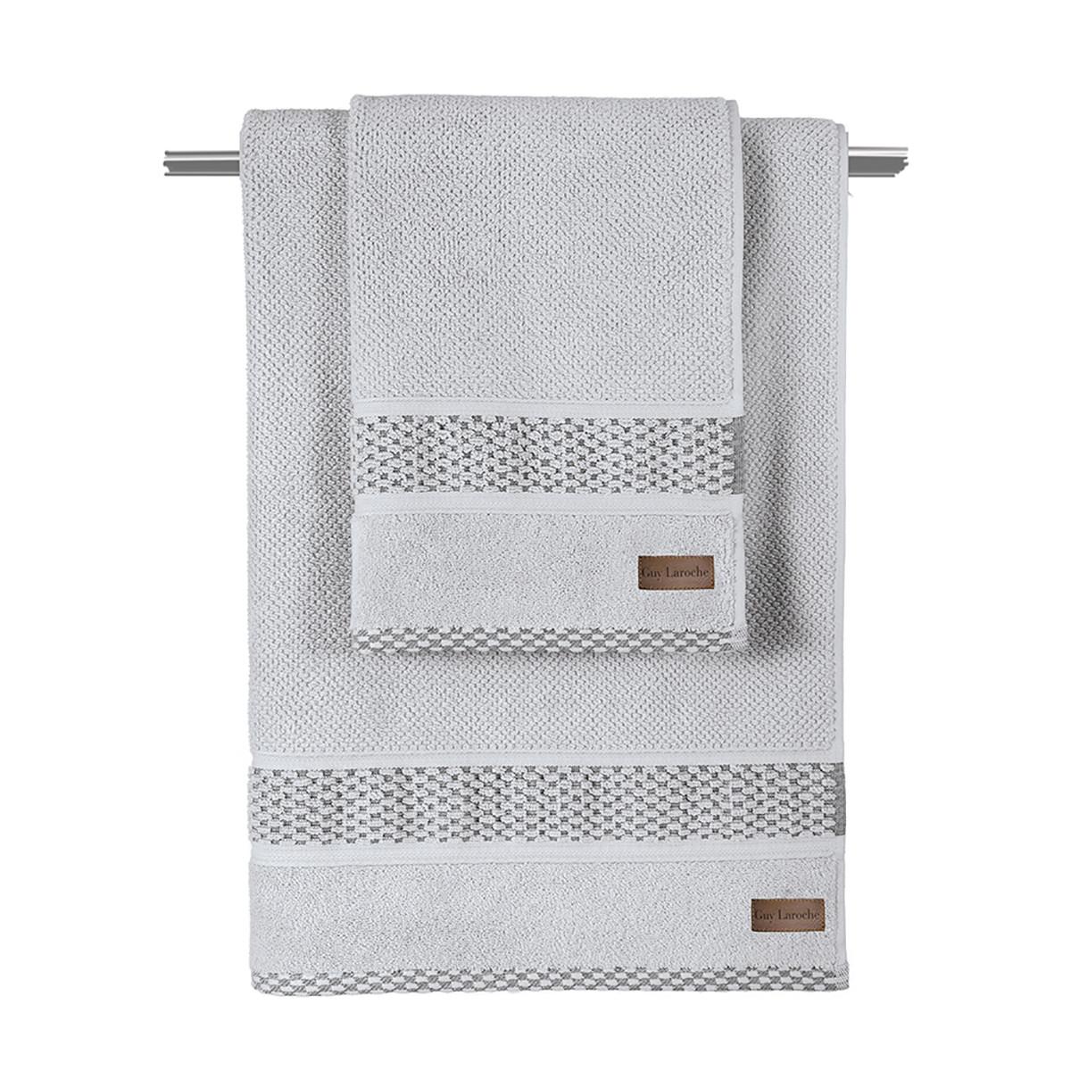 Πετσέτα Σώματος (70×140) Guy Laroche Dash Grey