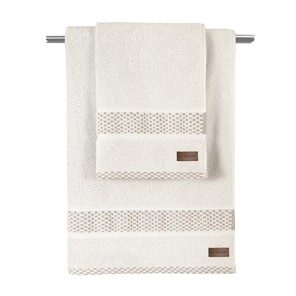 Πετσέτα Σώματος (70×140) Guy Laroche Dash Ivory