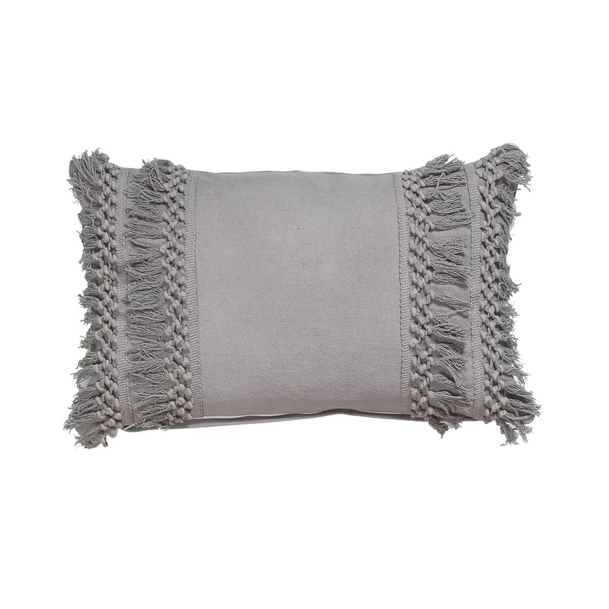 Διακοσμητικό Μαξιλάρι (33×55) Nef-Nef Rikkas Grey