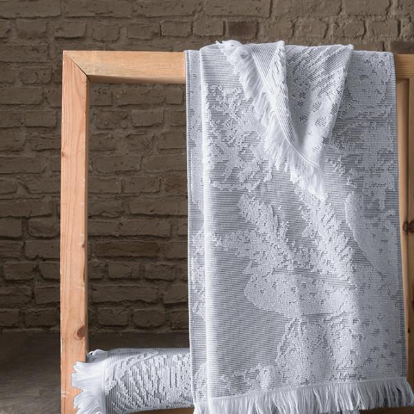 Πετσέτα Θαλάσσης - Παρεό Guy Laroche Pestemal 9 Anthracite