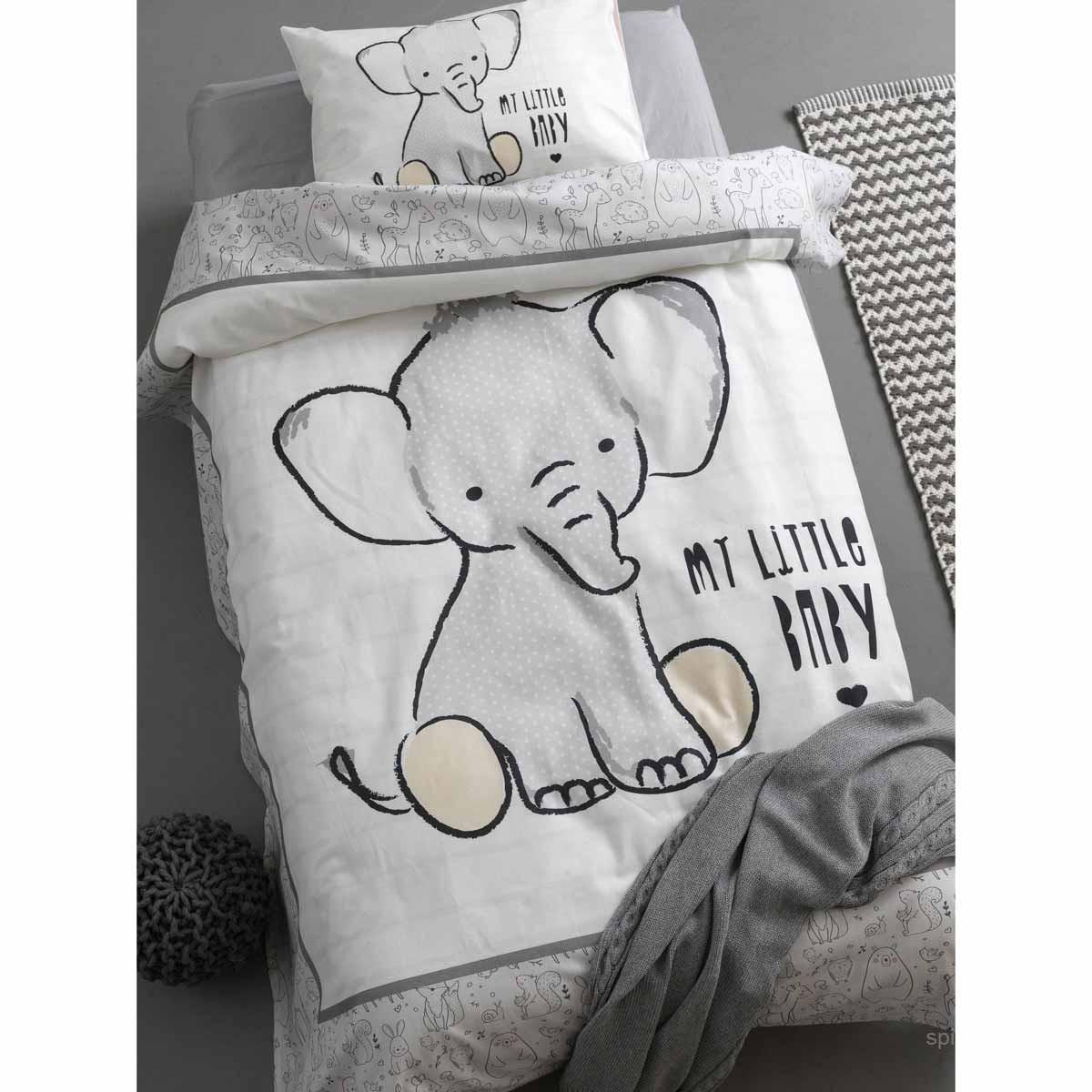 907e8163729 -10% Spiti Shop Σεντόνια Κούνιας (Σετ) Palamaiki Happy Baby 0552