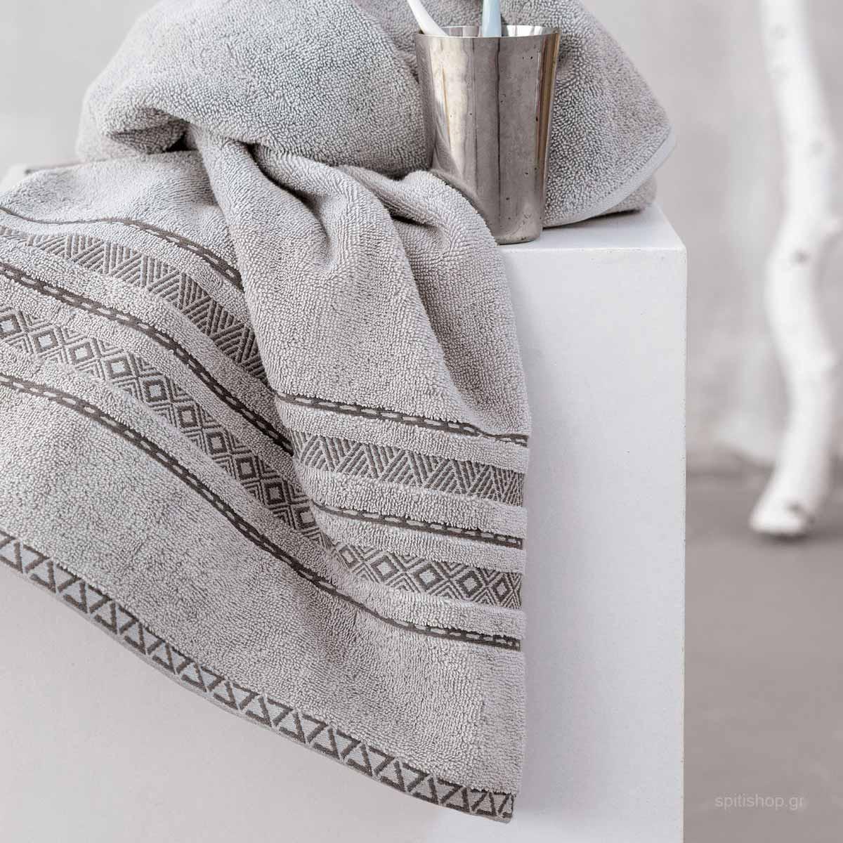 Πετσέτες Μπάνιου (Σετ 3τμχ) Palamaiki Towels Longa