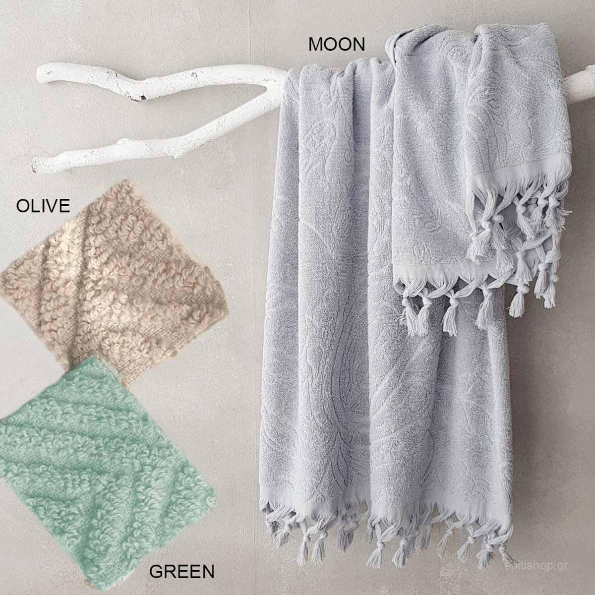 Πετσέτα Προσώπου (50×90) Palamaiki Towels Scarf