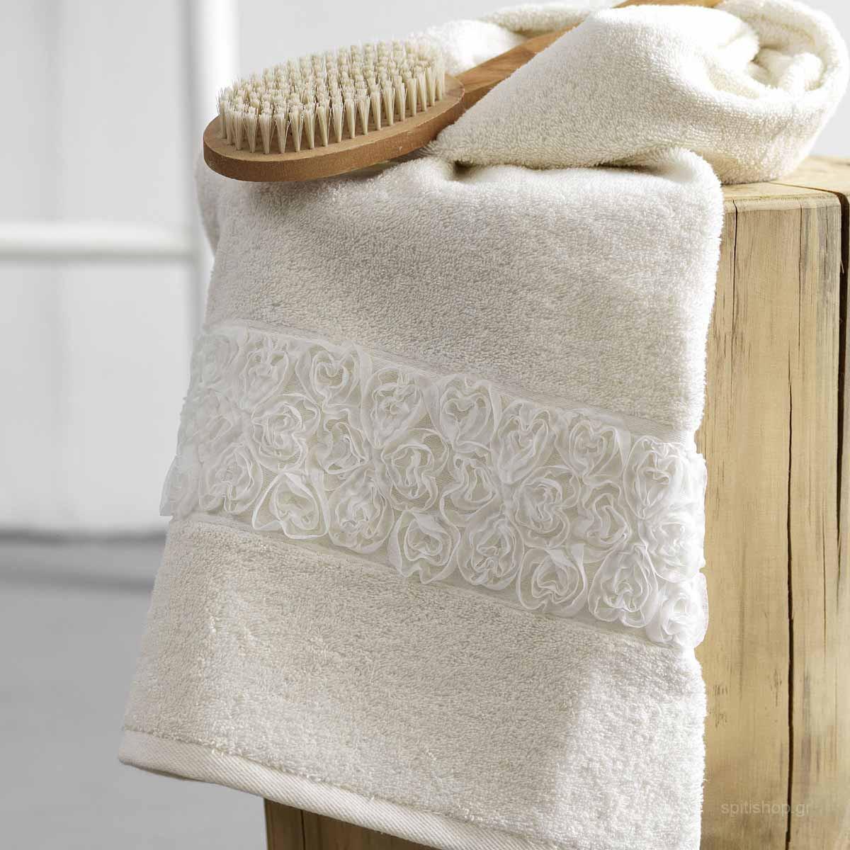 Πετσέτες Μπάνιου (Σετ 3τμχ) Palamaiki Towels Nivo