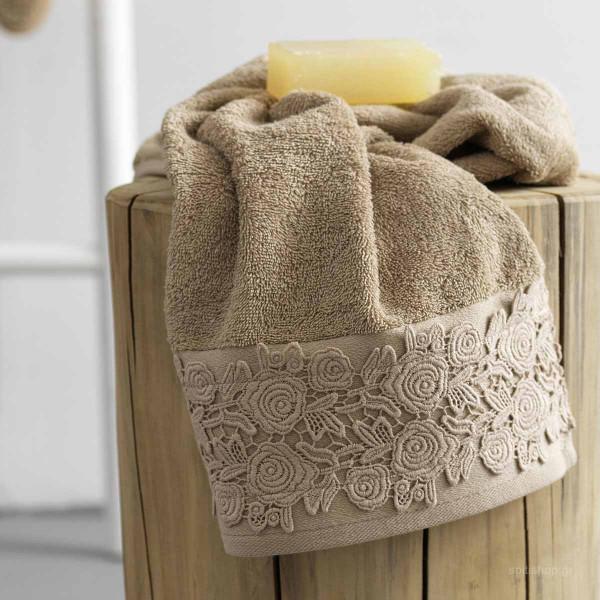 Πετσέτες Μπάνιου (Σετ 3τμχ) Palamaiki Towels Crown