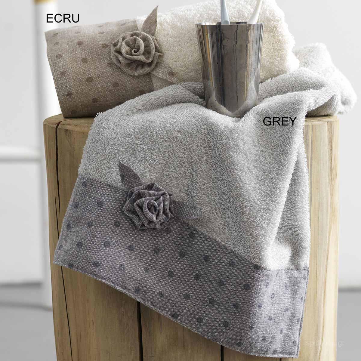 Πετσέτες Μπάνιου (Σετ 3τμχ) Palamaiki Towels Sila