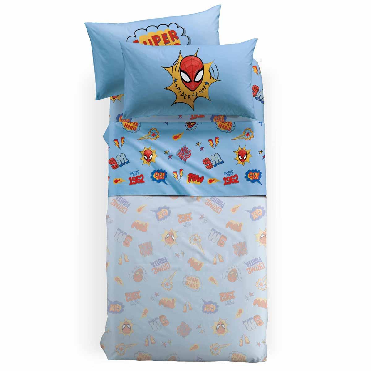 Σεντόνια Μονά (Σετ) Palamaiki Spiderman New York
