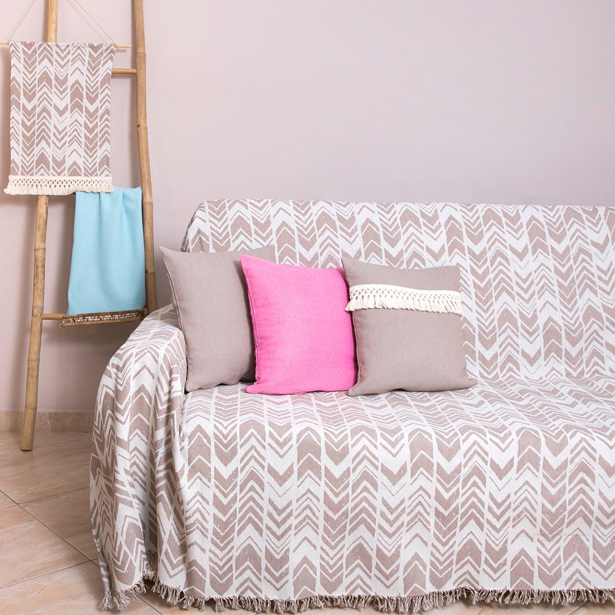 Ριχτάρι Τριθέσιου (180×300) Loom To Room Diverso Beige