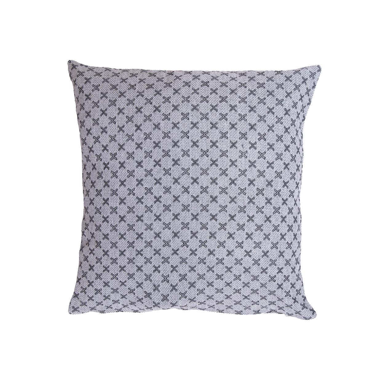 Διακοσμητική Μαξιλαροθήκη (40×40) Loom To Room Ristine Grey