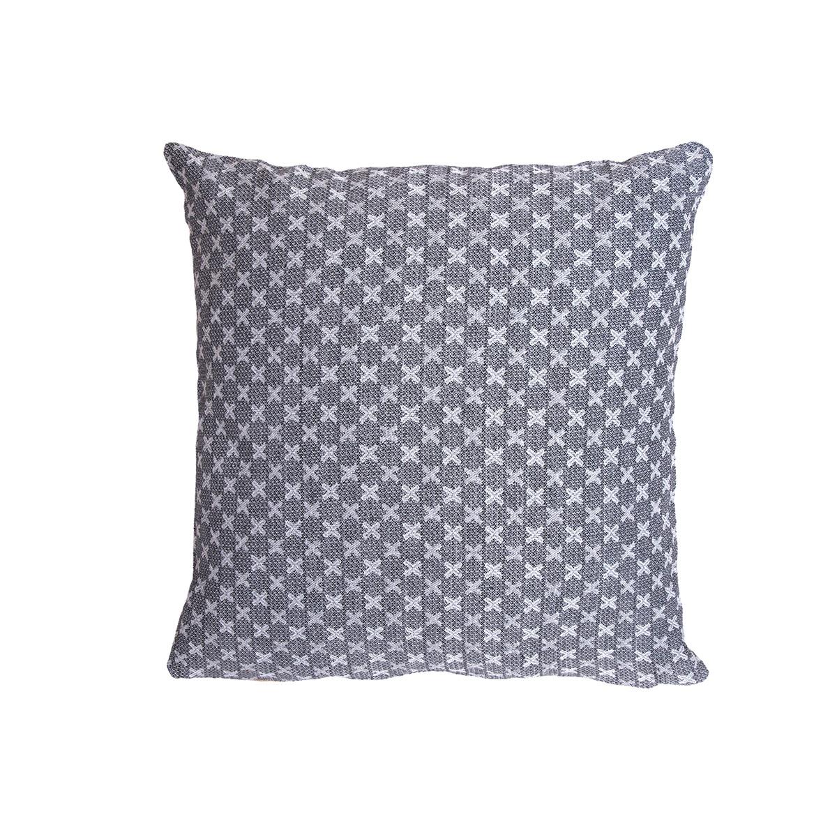 Διακοσμητική Μαξιλαροθήκη (40×40) Loom To Room Ristine Crispi Grey