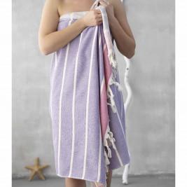 Πετσέτα Θαλάσσης-Παρεό Palamaiki Holy Pink
