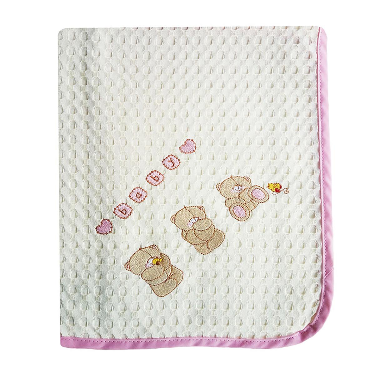 Κουβέρτα Πικέ Αγκαλιάς Dim Collection Αρκουδάκια 108