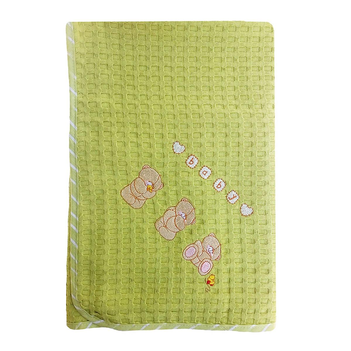 Κουβέρτα Πικέ Αγκαλιάς Dim Collection Αρκουδάκια 110