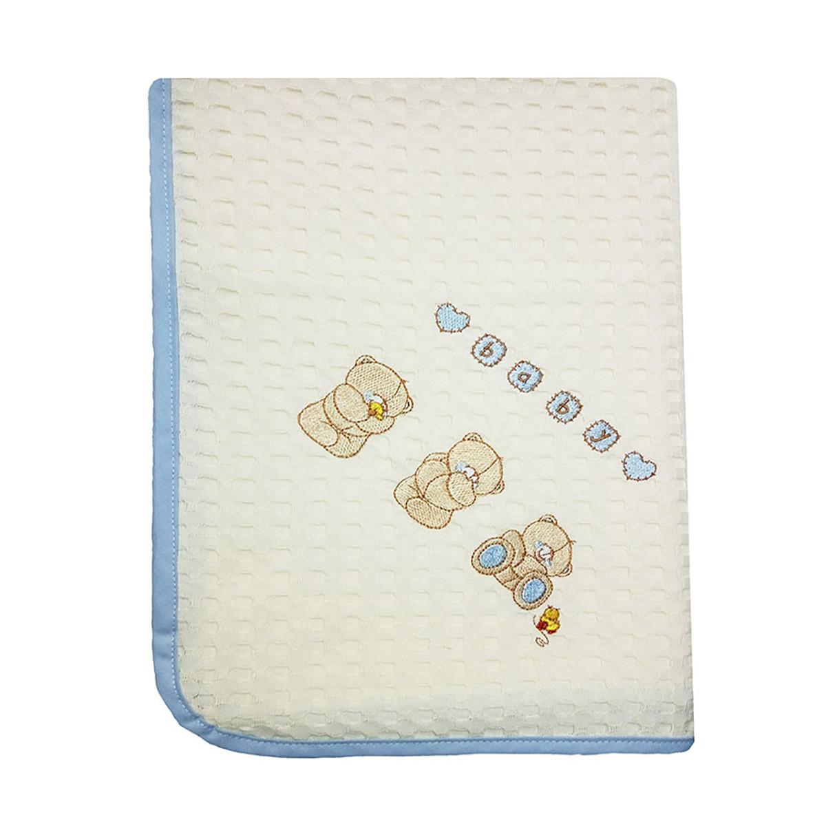Κουβέρτα Πικέ Αγκαλιάς Dim Collection Αρκουδάκια 111