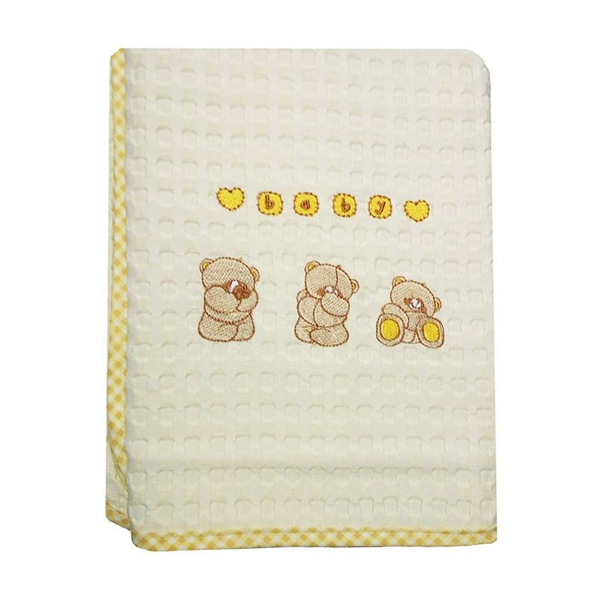 Κουβέρτα Πικέ Κούνιας Dim Collection Αρκουδάκια 109