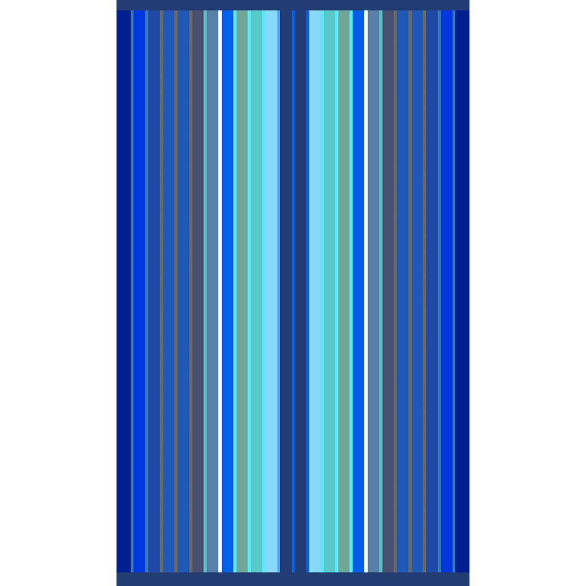 Πετσέτα Θαλάσσης Dimcol 016 Blue