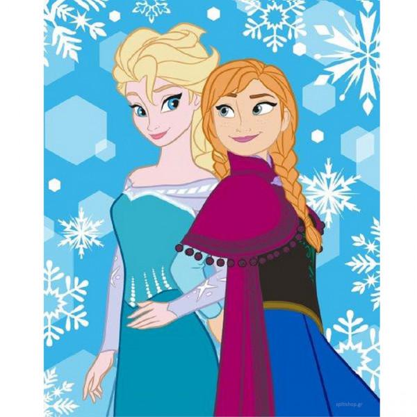 Κουβέρτα Fleece Κούνιας Dimcol Frozen 08