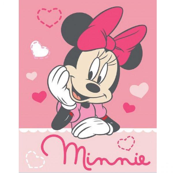 Κουβέρτα Fleece Κούνιας Dimcol Minnie 06