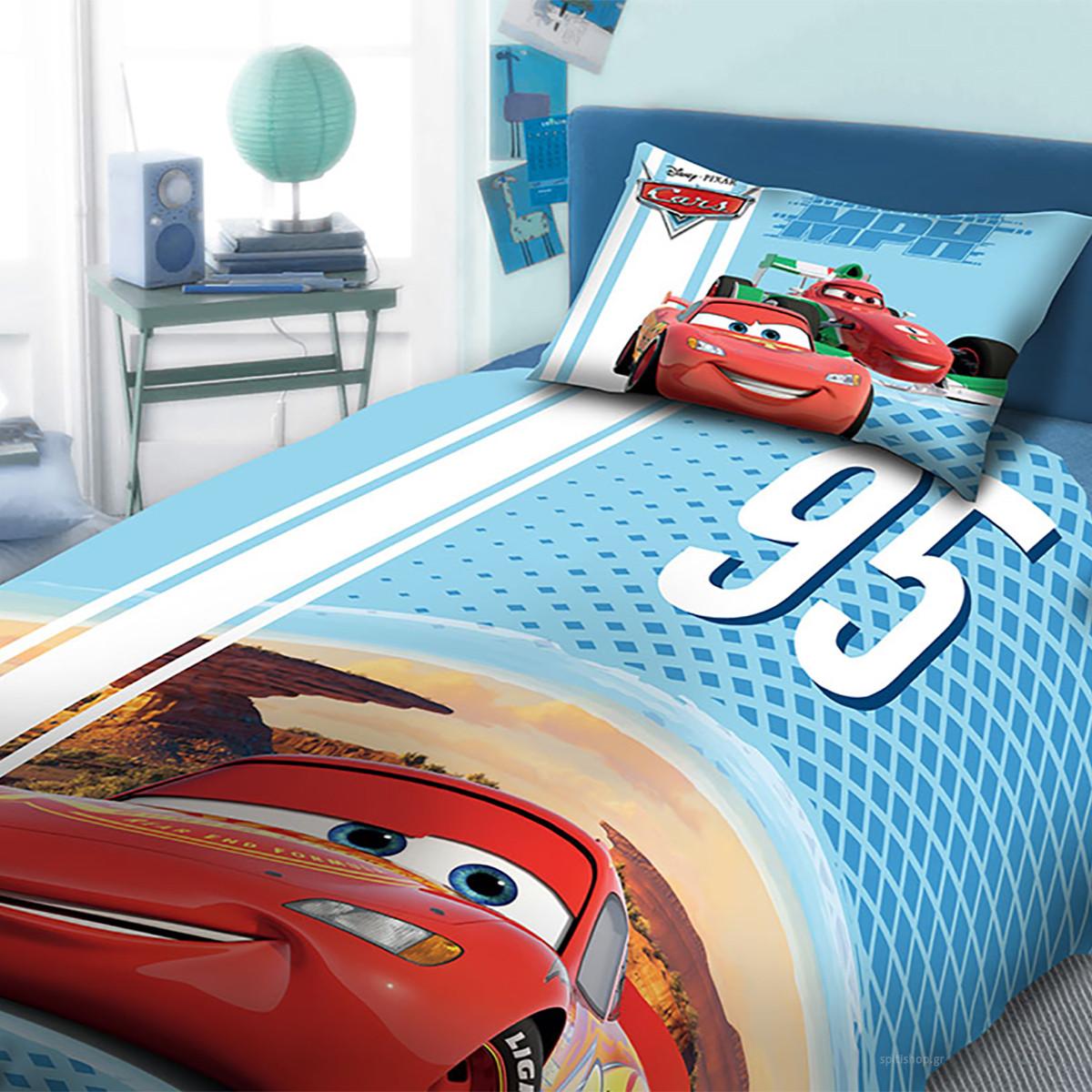 Σεντόνια Μονά (Σετ 2τμχ) Dim Collection Cars 972