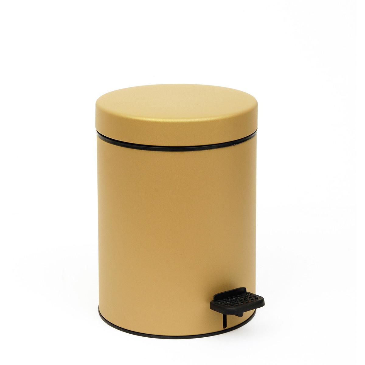 Κάδος Απορριμμάτων (18×25) PamCo 3Lit 605 Gold Satine