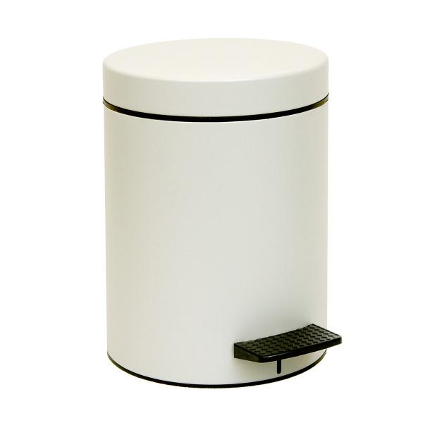 Κάδος Απορριμμάτων (20x28) PamCo 5Lit 96 Ice White Matte