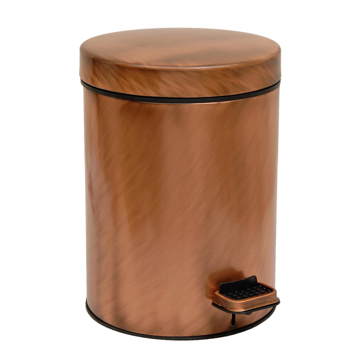 Κάδος Απορριμμάτων (20×28) PamCo 5Lit 240 Brushed Copper
