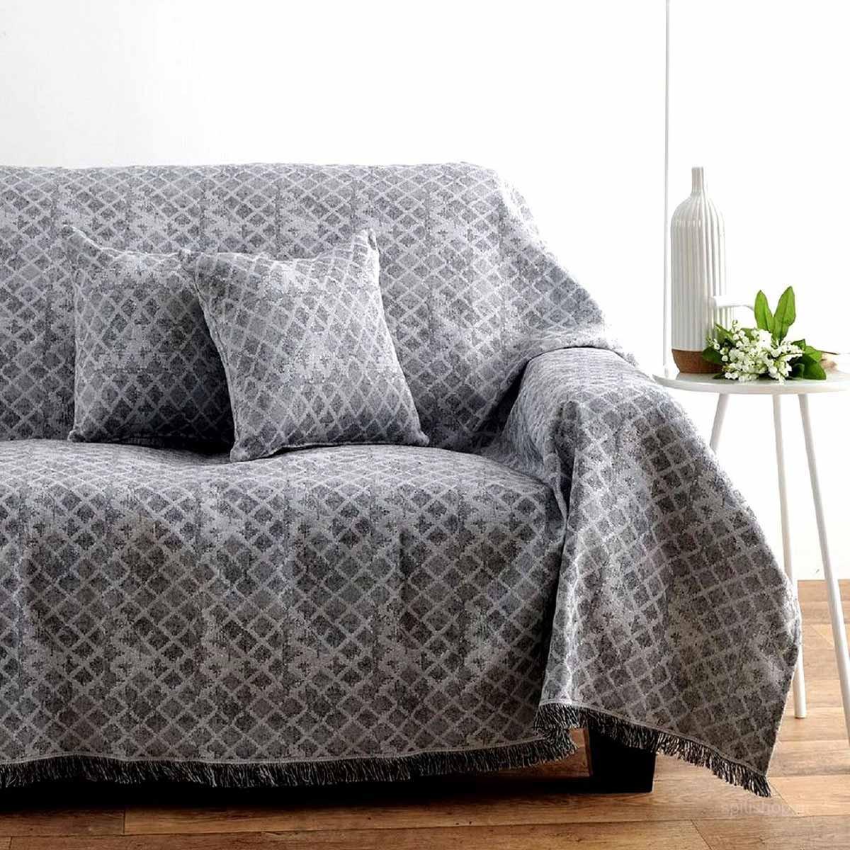Ριχτάρι Πολυθρόνας (180×160) Sb Home Nice Grey