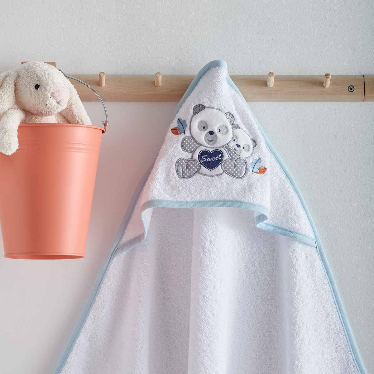Βρεφική Κάπα Sb Home Baby Panda Blue