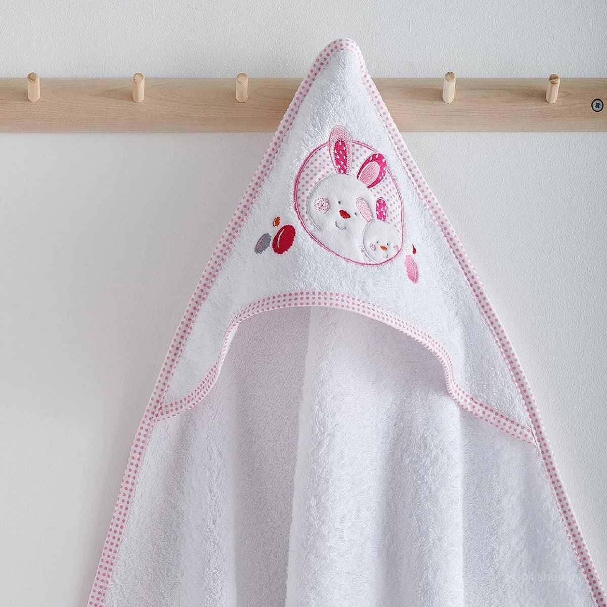 Βρεφική Κάπα Sb Home Baby Lapin Pink