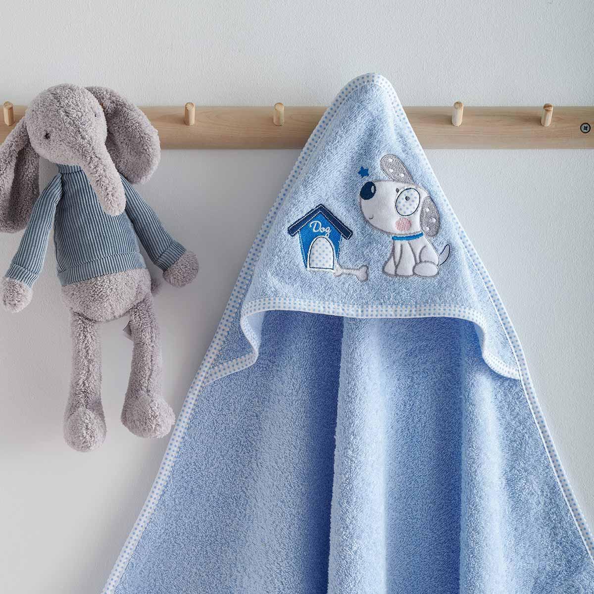 Βρεφική Κάπα Sb Home Baby Puppy Blue