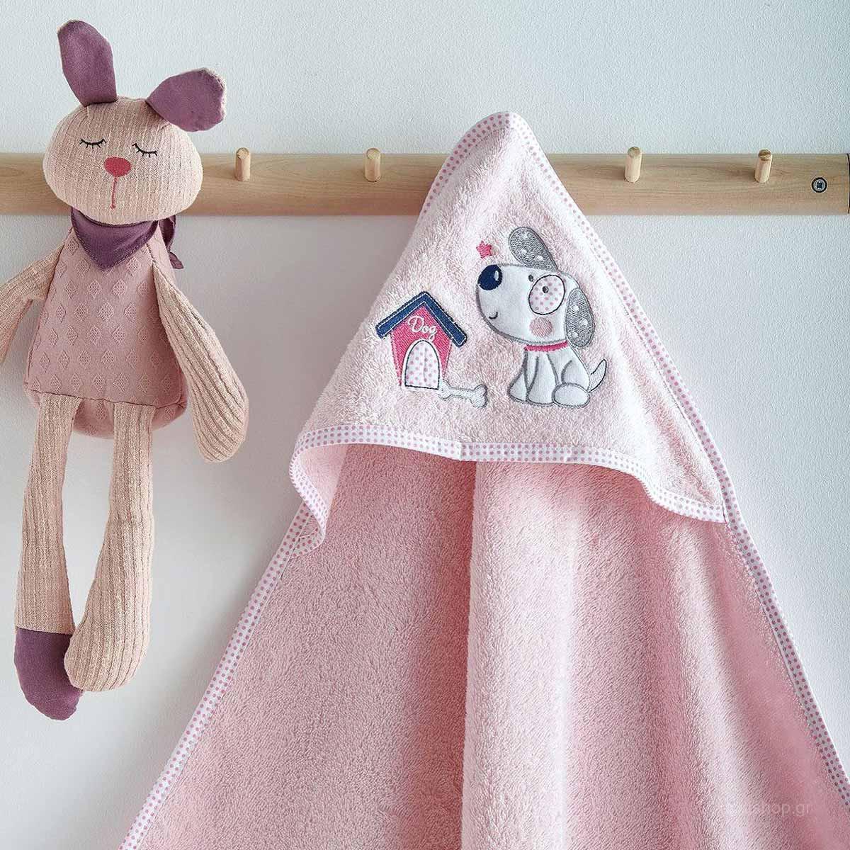 Βρεφική Κάπα Sb Home Baby Puppy Pink