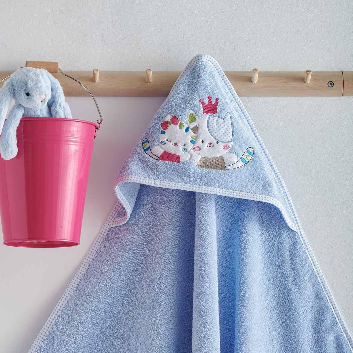 Βρεφική Κάπα Sb Home Baby Gattino Blue
