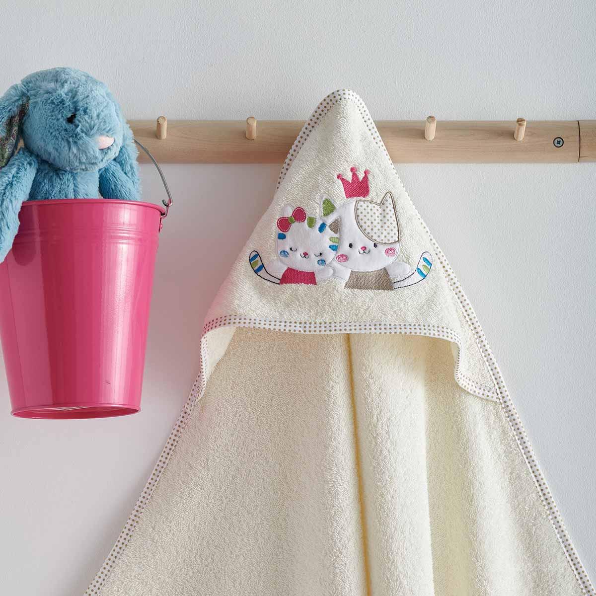 Βρεφική Κάπα Sb Home Baby Gattino Cream