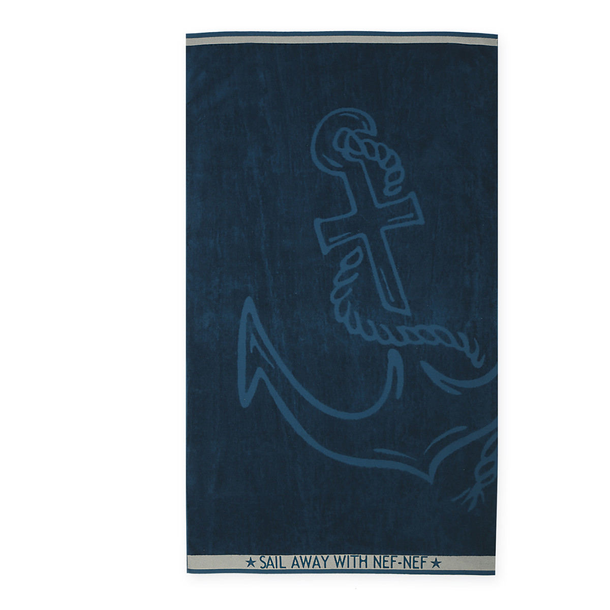 Πετσέτα Θαλάσσης Nef-Nef Anchor Blue