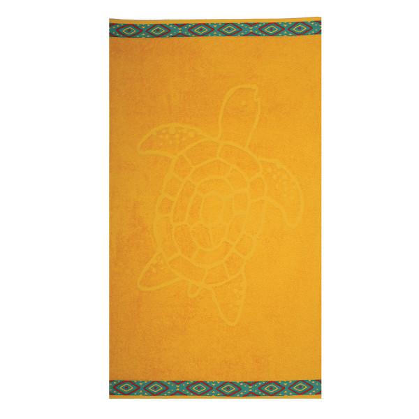 Παιδική Πετσέτα Θαλάσσης Nef-Nef Turtle Yellow