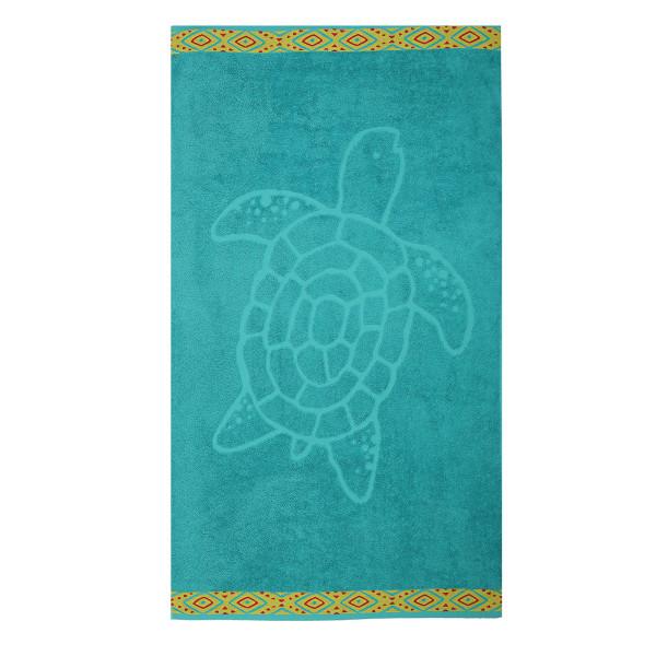 Παιδική Πετσέτα Θαλάσσης Nef-Nef Turtle Petrol