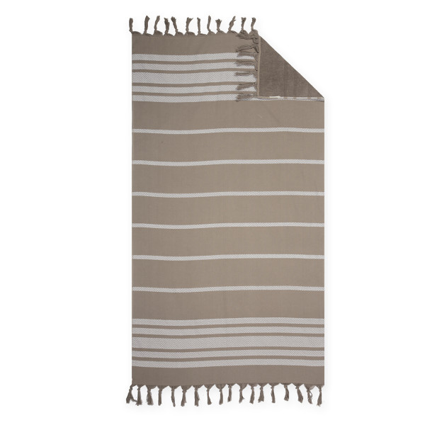 Πετσέτα Θαλάσσης - Παρεό Nef-Nef Reflect Brown