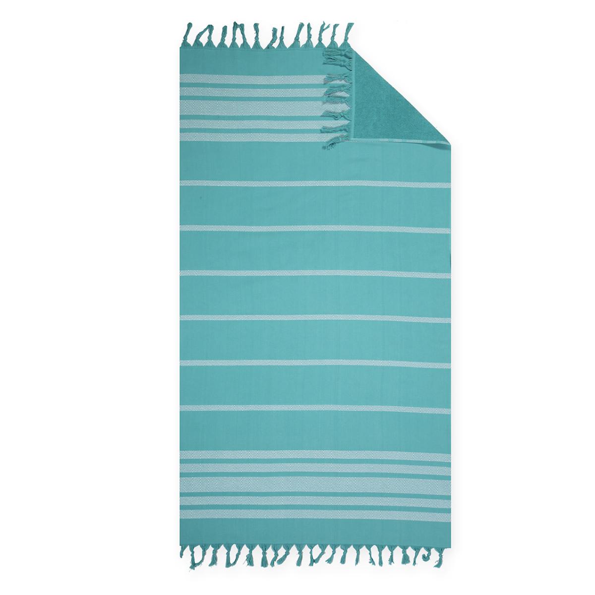 Πετσέτα Θαλάσσης – Παρεό Nef-Nef Reflect Petrol