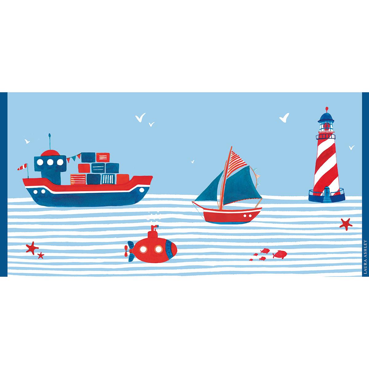 Παιδική Πετσέτα Θαλάσσης Laura Ashley Sea World