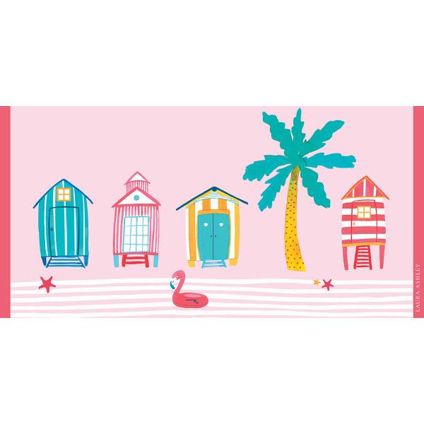 Παιδική Πετσέτα Θαλάσσης Laura Ashley Beach Huts