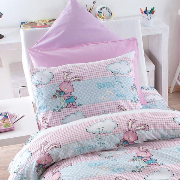 Ζεύγος Μαξιλαροθήκες Rythmos Fluffy Pink