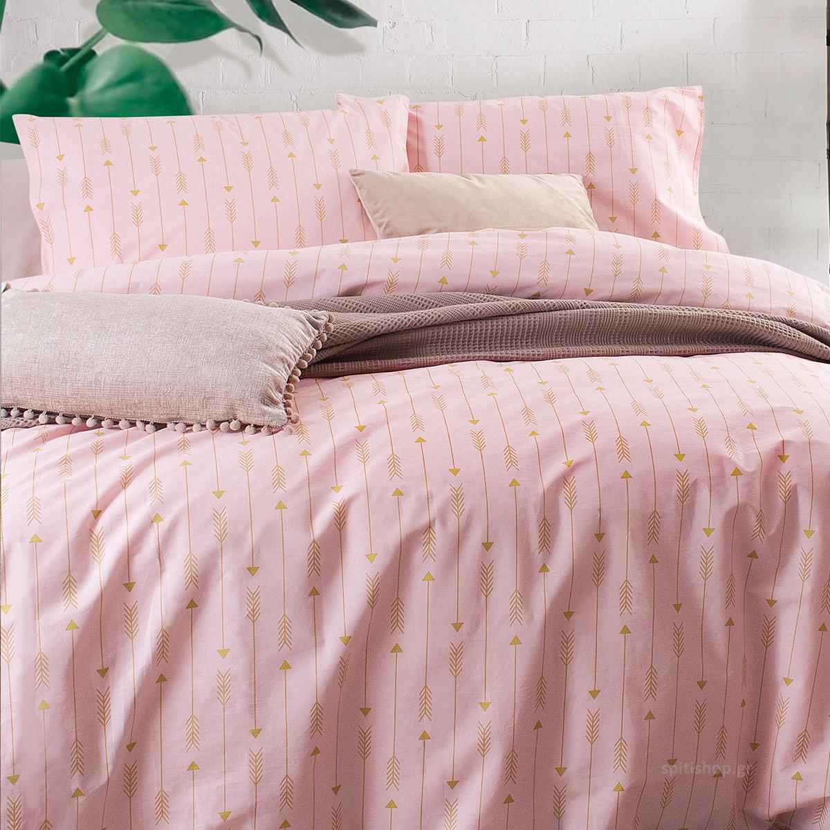 Ζεύγος Μαξιλαροθήκες Rythmos Diva Arrow Pink